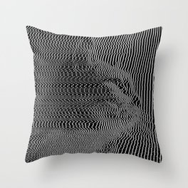 His Mind is Dark and Full of Errors 25 Throw Pillow