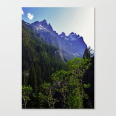 High in the Tetons Canvas Print