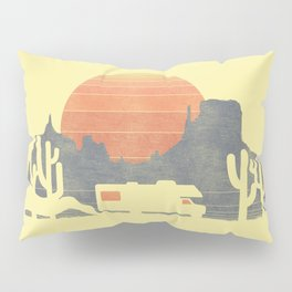 Trail of the dusty road Pillow Sham