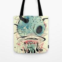 et Tote Bags featuring ET Explorer by choppre