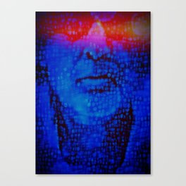 X-Ray Ice Man Canvas Print
