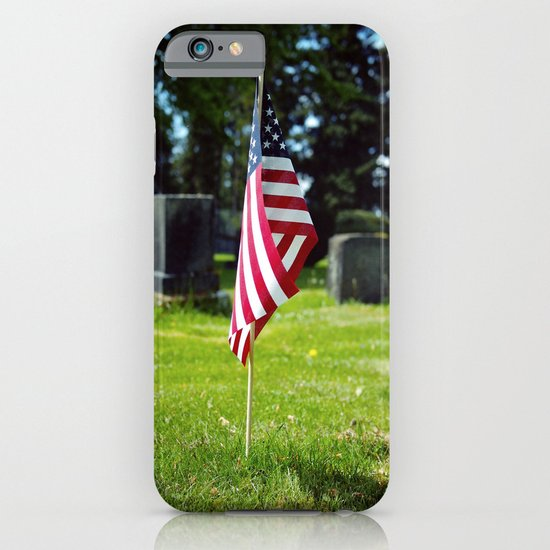 Solitary flag iPhone & iPod Case