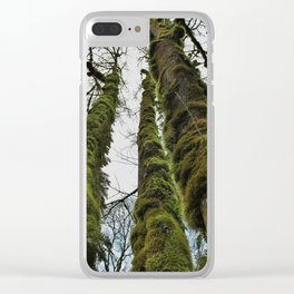 Tall Moss Clear iPhone Case