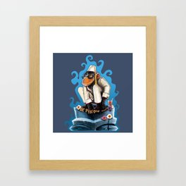 Cosmo At The Moon Palace Framed Art Print
