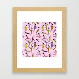 Pompadour Framed Art Print