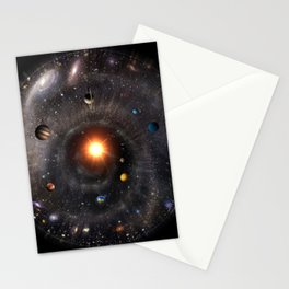 Spherical Universal View Stationery Cards