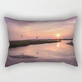 North Topsail Sunset Rectangular Pillow