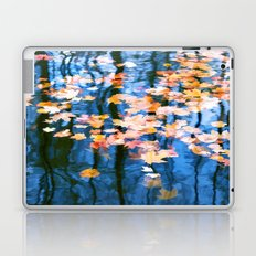Fallen leaves in water Laptop & iPad Skin