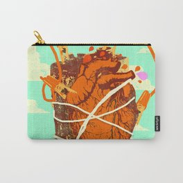 BATTERY HEART Carry-All Pouch