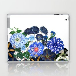 Vintage & Shabby Chic - Blue Flower Summer Meadow Laptop & iPad Skin