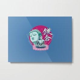 Kamakura Buddha Metal Print