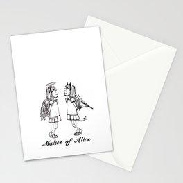 Good vs. Evil Stationery Cards