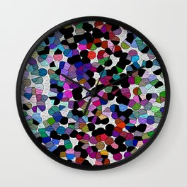 Summer In The City Wall Clock