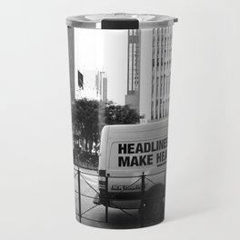 New York Post Truck, Manhattan Travel Mug