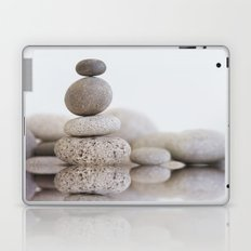 Stone Balance pebble cairn and water Laptop & iPad Skin