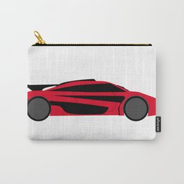 Modern Fast Car Carry-All Pouch