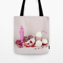 Sweet pink doom - still life Tote Bag