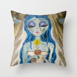 A Tear to Shed-Emily Throw Pillow
