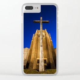 Guildford Cathedral Clear iPhone Case