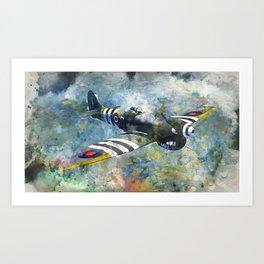 Hawker Tempest Art Print