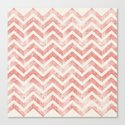 Maritime Navy Chevron Herringbone ZigZag in White Red by simplicity_of_live