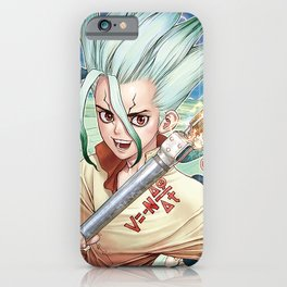 Dr. Stone Poster iPhone Case