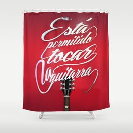 Guitar!! Shower Curtain