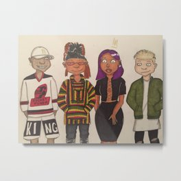 Rocket Power Metal Print
