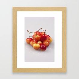 Vibrant Fruit Framed Art Print