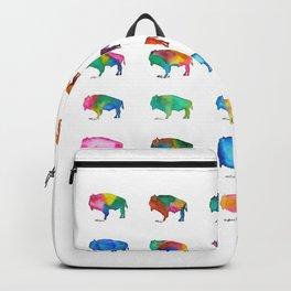 Watercolor Buffalo Series Backpack