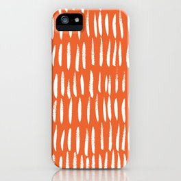 Brush Stroke Staccato iPhone Case