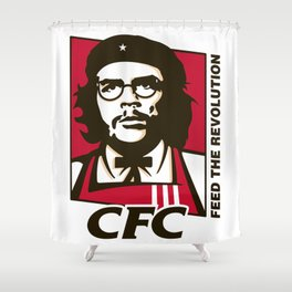 Che's Fried Chicken Shower Curtain