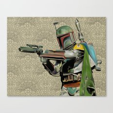 Starwars Boba Fett Canvas Print
