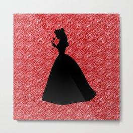 Belle silhouette Metal Print