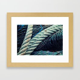 Fishermans Rope  Framed Art Print
