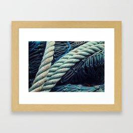Fishermans Rope  Framed Art Print