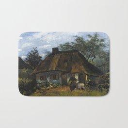 Vincent van Gogh - Farmhouse in Nuenen Bath Mat