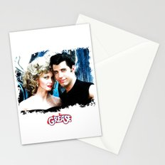 Sandy and Danny from Grease - Painting Style Stationery Cards