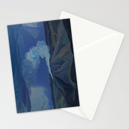 Canadian Landscape Oil Painting Franklin Carmichael Art Nouveau Post-Impression The Nickel Belt 1928 Stationery Cards