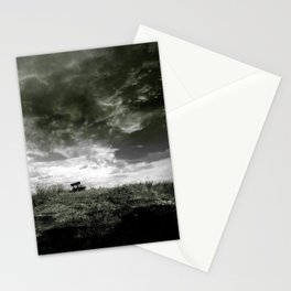 On The Dyke b&w Stationery Cards