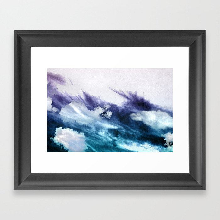 CELESTE Framed Art Print