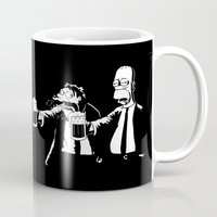 simpson Mugs featuring Pulp Simpson by Stationjack