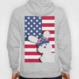 INDEPENDENCE DAY BUNNY Hoody