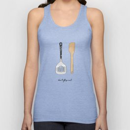 Don't Flip Out Unisex Tank Top