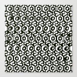 Blac & White  Canvas Print