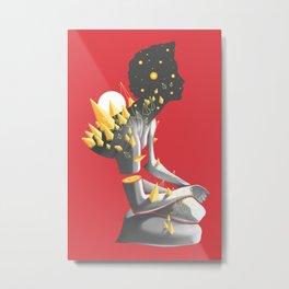 Somber Metal Print