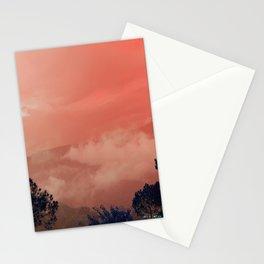 Himalayas Under a Pink Sky Stationery Cards