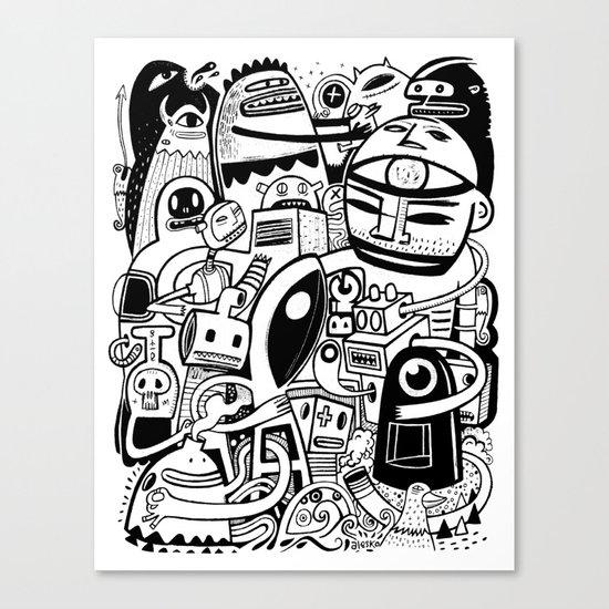 BIG - BW Canvas Print