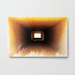 Desert Tunnel Metal Print