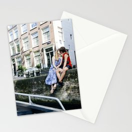 Amsterdam kiss Stationery Cards